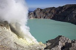 Kawah Ijen top view